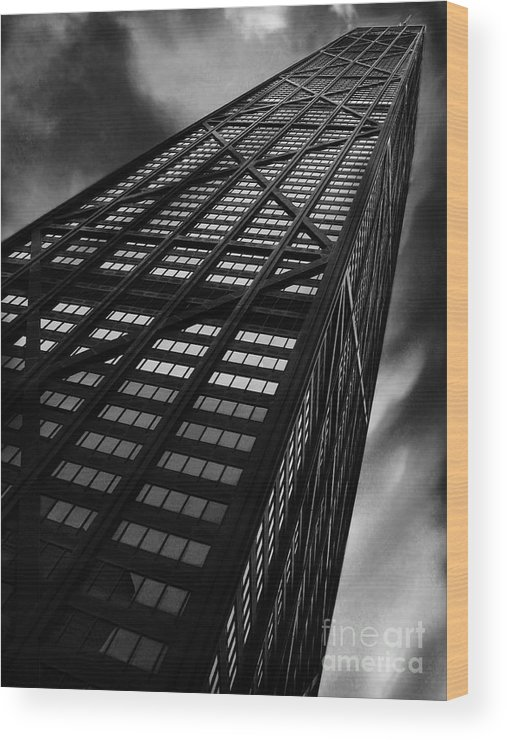 City Wood Print featuring the photograph Limitless by Dana DiPasquale