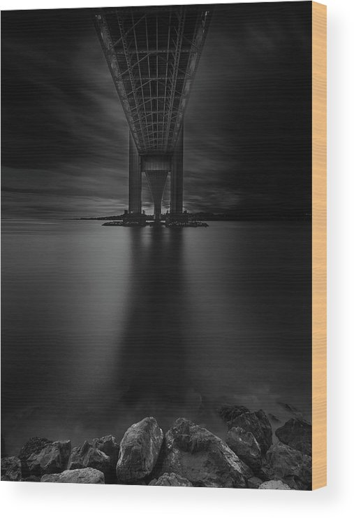 50s Wood Print featuring the photograph 50 Shades Of Verrazano by Edgars Erglis