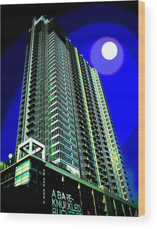 Condo Wood Print featuring the photograph Aspiring by Christine S Zipps