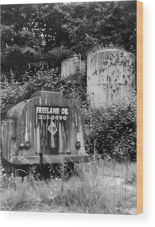 Environment Wood Print featuring the photograph Fossil Fuels by Jim Furrer