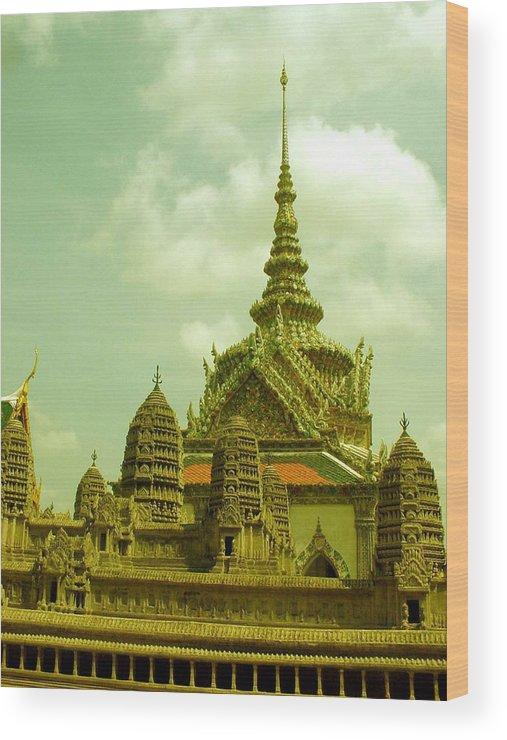 Grand Palace Wood Print featuring the photograph Grand Palace by Jennifer Ott