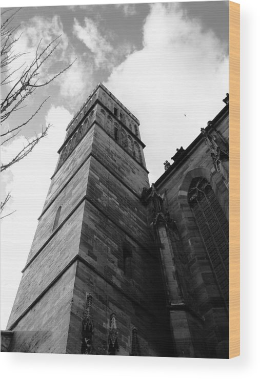 Cathedral Wood Print featuring the photograph Judgment by Dylan Punke