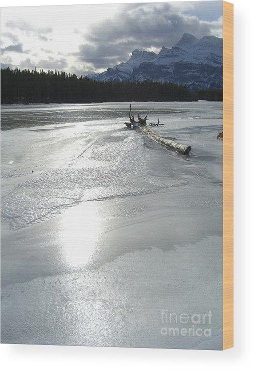 Lake Wood Print featuring the photograph Lake Miniwanka by Jim Thomson