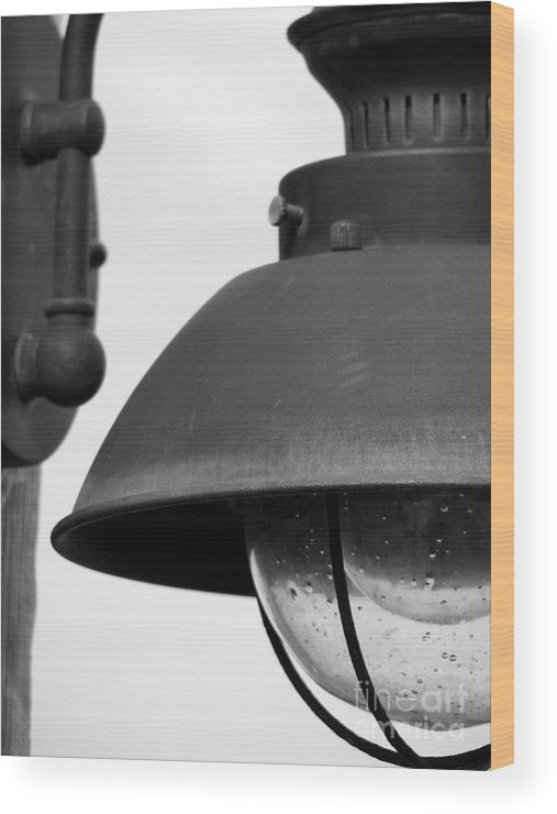 Lamppost Wood Print featuring the photograph Lamp Post by Amanda Barcon