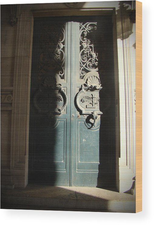 Doorway Wood Print featuring the photograph Lead Me Into The Light by Rhianna Wurman