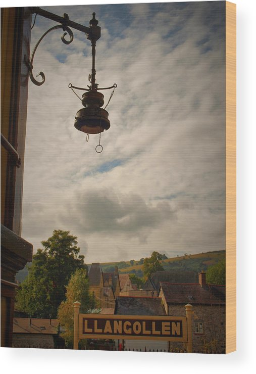 History Wood Print featuring the photograph Llangollen Station by Michaela Perryman