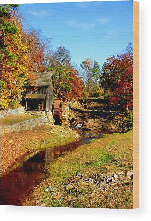 Mill Wood Print featuring the photograph Old Mill by Ralph Perdomo