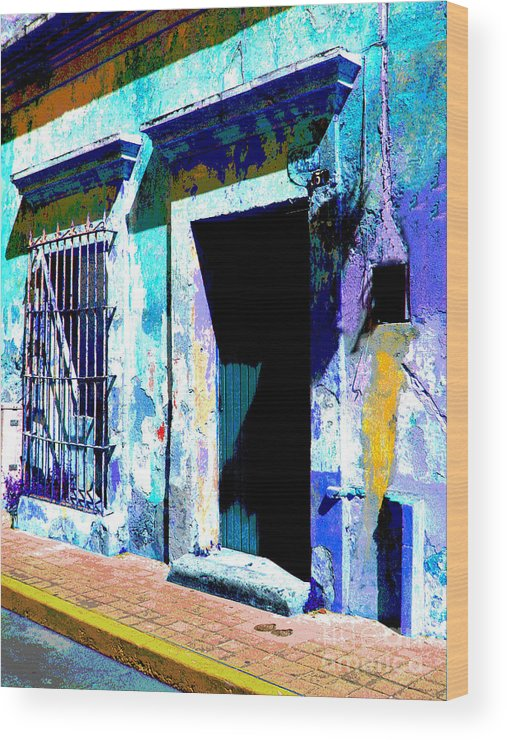Darian Day Wood Print featuring the photograph Old Paint By Darian Day by Mexicolors Art Photography