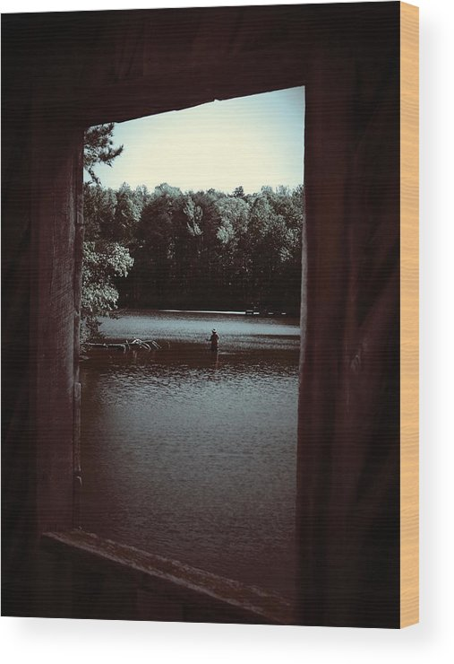 Lake Wood Print featuring the photograph Simple Times by Jessica Burgett