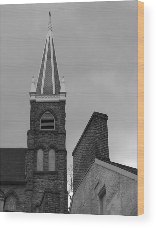 History Wood Print featuring the photograph Standing History by Staci-Jill Burnley