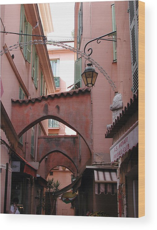 France Wood Print featuring the photograph Streets Of Cannes 1 by Holly Wolfe