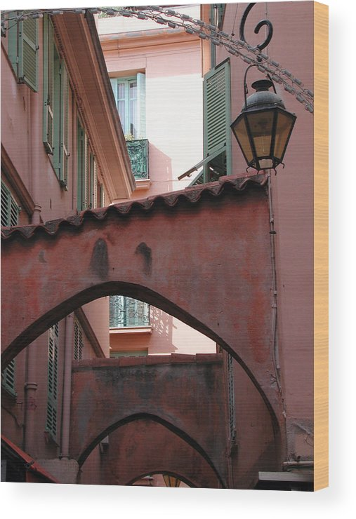 France Wood Print featuring the photograph Streets Of Cannes 2 by Holly Wolfe