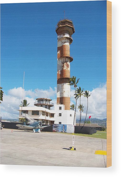 Rustic Wood Print featuring the photograph Tower by Bill Judge