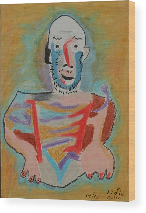 Picasso Wood Print featuring the painting After Picasso by Harris Gulko