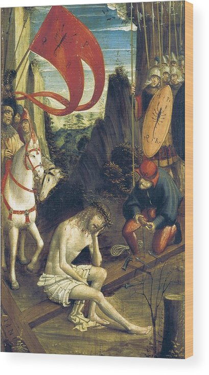 Vertical Wood Print featuring the photograph Ferrari, Defendente 1480-1540. Christ by Everett