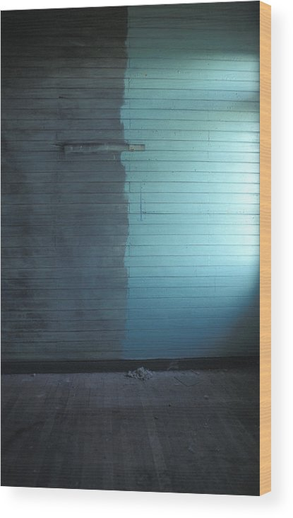 Chile Wood Print featuring the photograph Two Tone Wall by Marcus Best