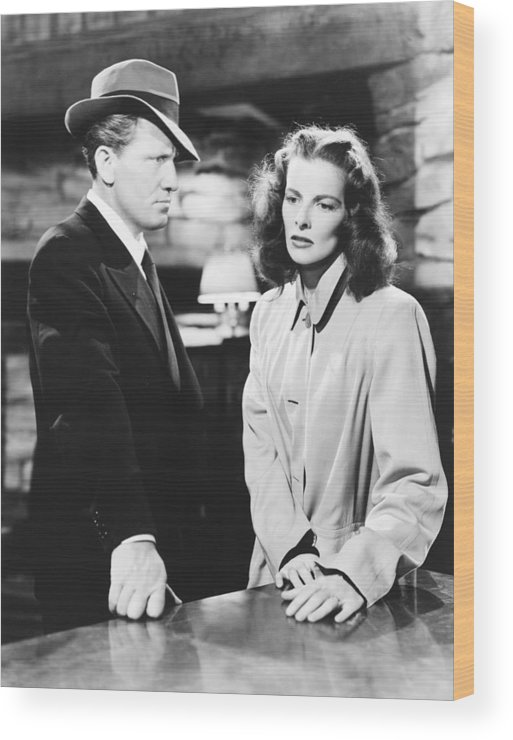 1940s Movies Wood Print featuring the photograph Keeper Of The Flame, From Left Spencer by Everett