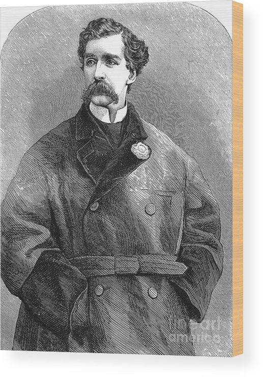 19th Century Wood Print featuring the photograph Edward Sothern (1826-1881) by Granger