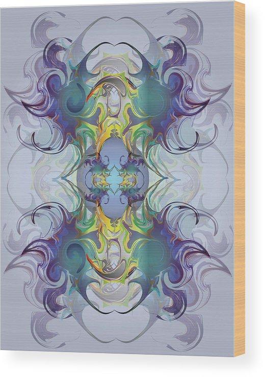 Fantasy Wood Print featuring the digital art Fantasy V by George Pasini