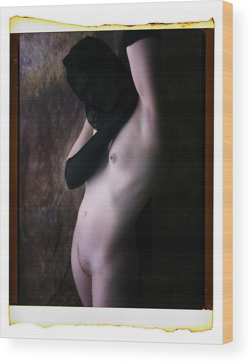 Photography Wood Print featuring the photograph Nude Image 71 by Ralph Duke