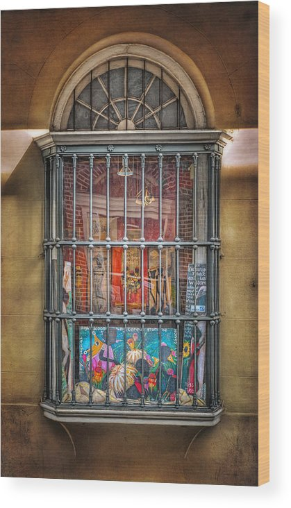 Window Wood Print featuring the photograph Art For Sale by Brenda Bryant