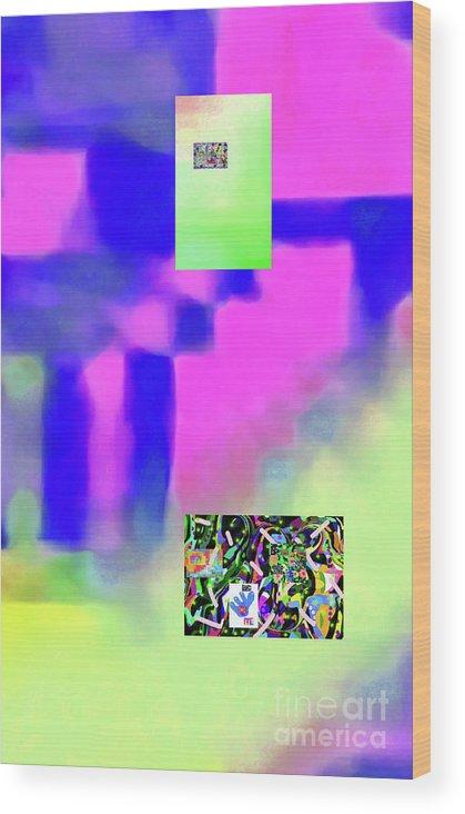 Walter Paul Bebirian Wood Print featuring the digital art 5-14-2015fabcdefghijklmnopqrtuvwxyzab by Walter Paul Bebirian