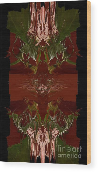 Asian Wood Print featuring the photograph Asian Spice by Beverly Shelby