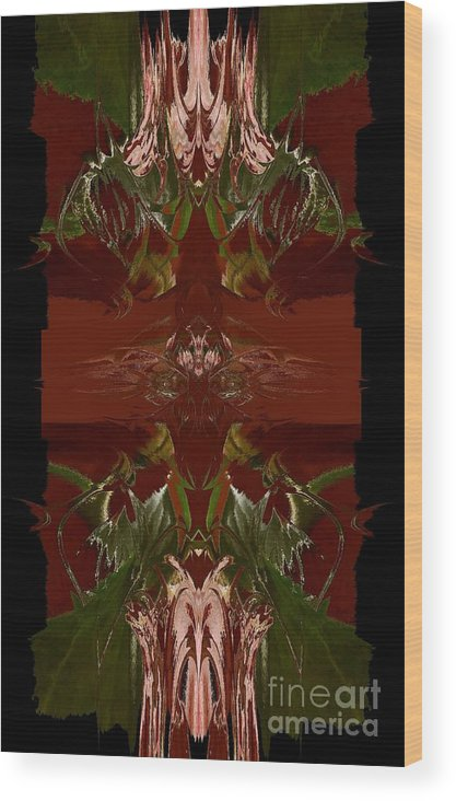 Asian Wood Print featuring the photograph Asian Spice Three by Beverly Shelby