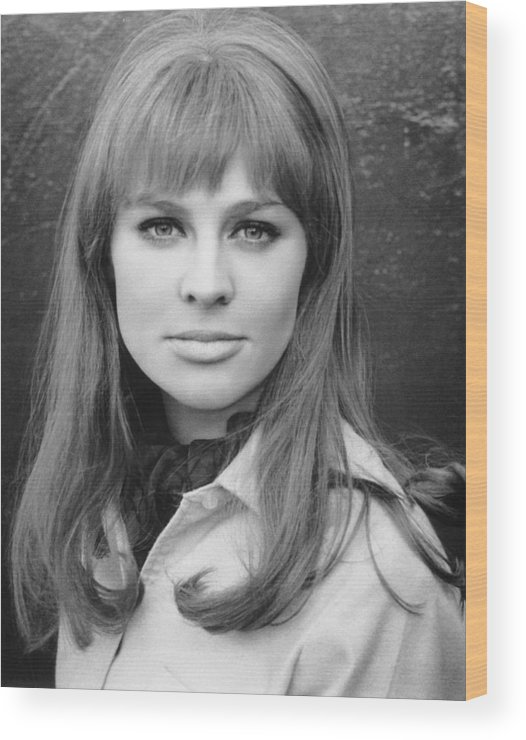1960s Hairstyles Wood Print featuring the photograph Julie Christie, Ca. Mid-1960s by Everett
