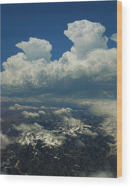 Mountains Wood Print featuring the photograph 2807 by Peter Holme III
