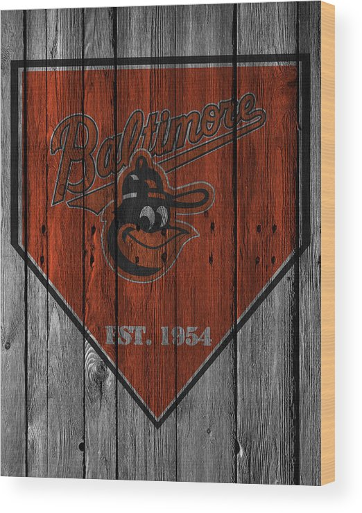 Orioles Wood Print featuring the photograph Baltimore Orioles by Joe Hamilton