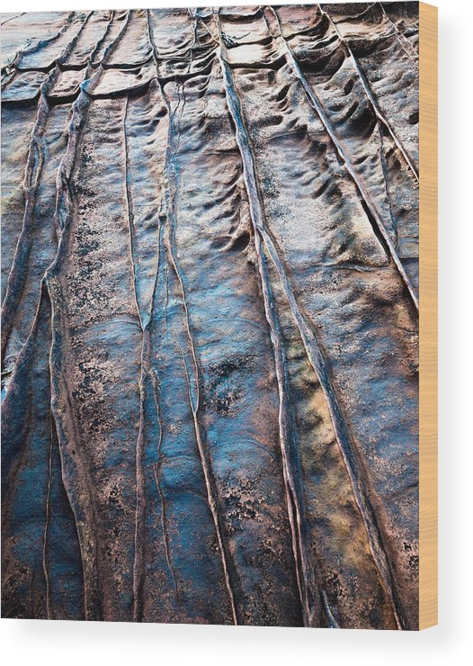 Wood Print featuring the photograph Coloured Stones by Tomas Urban