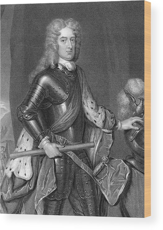 Marlborough Wood Print featuring the drawing John Churchill, First Duke by Mary Evans Picture Library