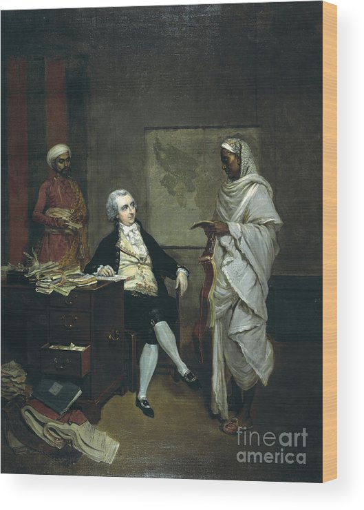Furniture Wood Print featuring the photograph John Mowbray by British Library