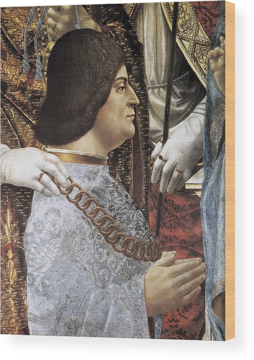 Man Wood Print featuring the photograph Sforza, Ludovico, Called The Moor by Everett