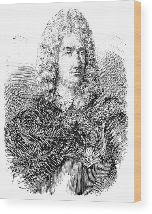 18th Century Wood Print featuring the photograph Charles-francois Du Fay by Granger