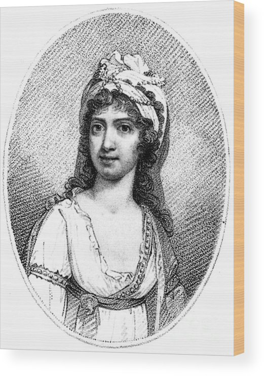 18th Century Wood Print featuring the photograph Nancy Storace (1765-1817) by Granger