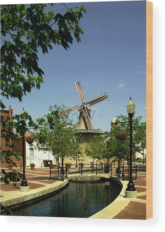 Pellaiowa Wood Print featuring the photograph A Touch Of Holland by Lyle Huisken
