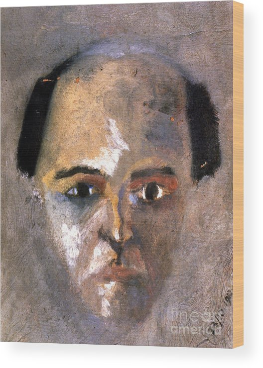 1910 Wood Print featuring the photograph Arnold Schoenberg by Granger