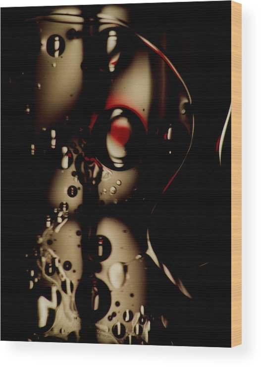 Abstract Wood Print featuring the photograph Blade Runner by David Rivas