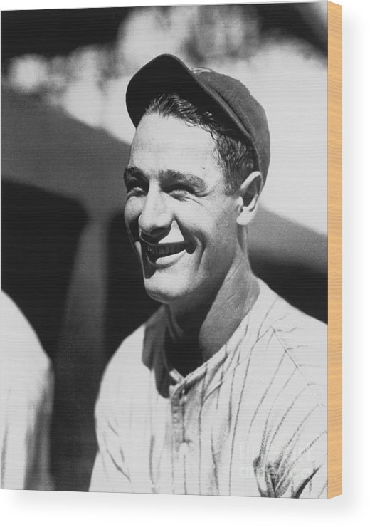People Wood Print featuring the photograph National Baseball Hall Of Fame Library 25 by National Baseball Hall Of Fame Library
