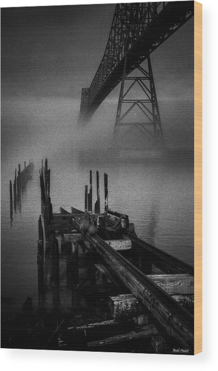 Megler Wood Print featuring the photograph Astoria-megler Bridge by Paul Haist