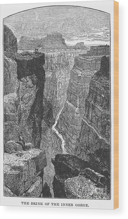 19th Century Wood Print featuring the photograph The Colorado River by Granger
