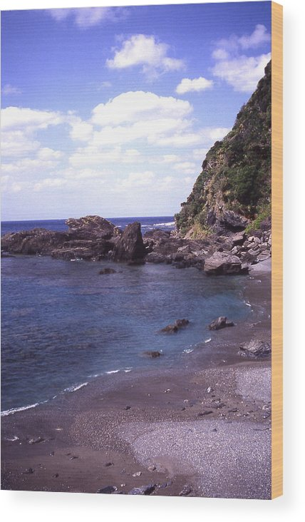 Okinawa Wood Print featuring the photograph Okinawa Beach 5 by Curtis J Neeley Jr