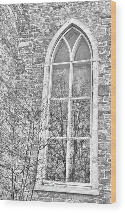Vermont Wood Print featuring the photograph Blessed Chapel by JAMART Photography