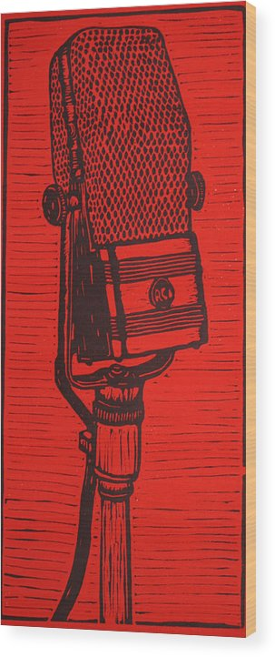 Rca Wood Print featuring the drawing Rca 44 by William Cauthern