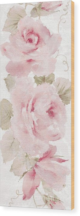 Writermore Wood Print featuring the mixed media Blossom Series No.5 by Writermore Arts