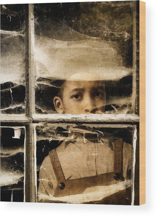 Composite Wood Print featuring the photograph Forgotten 2 by Timothy Bulone
