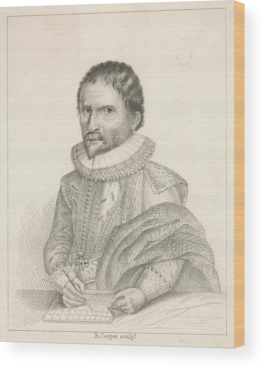 Napier Wood Print featuring the drawing John Napier (1550-1617), 8th Laird by Mary Evans Picture Library