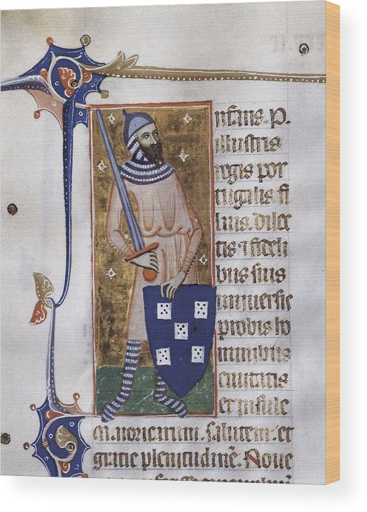 Vertical Wood Print featuring the photograph Peter I, Count Of Urgell 1187 - 1255 by Everett